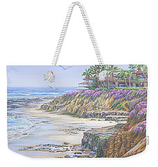 Low Tide Solana Beach Weekender Tote Bag
