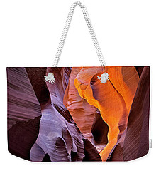 Lower Antelope Glow Weekender Tote Bag