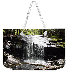 Lower Chapel Brook Falls Weekender Tote Bag