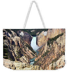 Lower Falls Yellowstone Weekender Tote Bag by Teresa Zieba