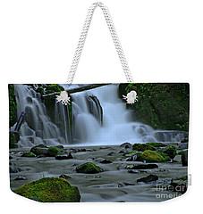 Lower Mcdowell Creek Falls Weekender Tote Bag