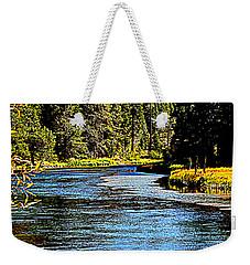 Lower Truckee River Weekender Tote Bag