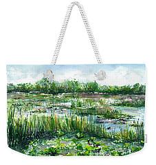 Loxahatchee Marsh Weekender Tote Bag