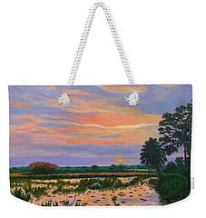 Loxahatchee Sunset Weekender Tote Bag