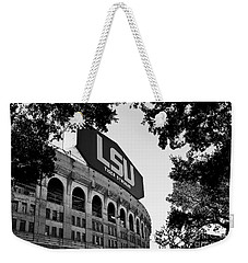 Lsu Through The Oaks Weekender Tote Bag by Scott Pellegrin