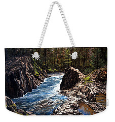 Lucia Falls Downstream Weekender Tote Bag