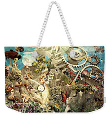 Lucid Dreaming Weekender Tote Bag by Ally  White
