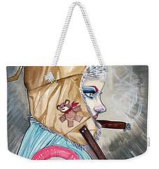 Lucky Bullet 13 Weekender Tote Bag by Jimmy Adams
