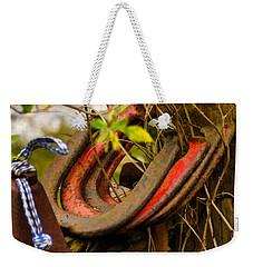 Lucky Horseshoes Weekender Tote Bag by Jordan Blackstone