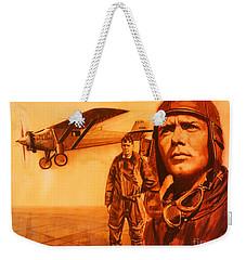 Lucky Lindy Weekender Tote Bag