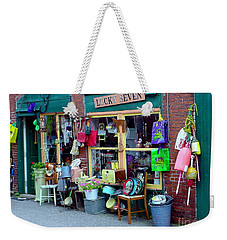 Lucky Seven Weekender Tote Bag by Kevin Fortier