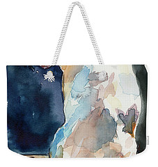 Lucy Moon Weekender Tote Bag by Molly Poole