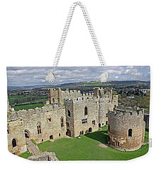 Ludlow Castle Chapel And Great Hall Weekender Tote Bag