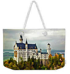 Neuschwanstein Castle In Bavaria Germany Weekender Tote Bag