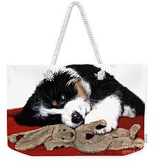 Lullaby Berner And Bunny Weekender Tote Bag