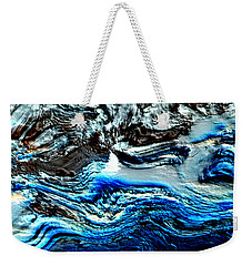 Weekender Tote Bag featuring the digital art Lumenittoral by Richard Thomas