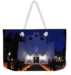 Luminarias At St Francis De Paula Weekender Tote Bag