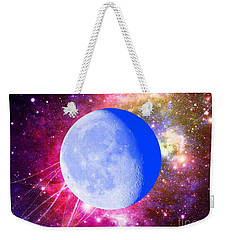 Weekender Tote Bag featuring the photograph Lunar Magic by Leanne Seymour