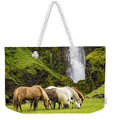 Lunch At The Waterfall Weekender Tote Bag