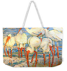 Lunch On The Beach With Friends  Weekender Tote Bag
