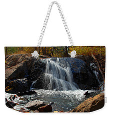 Weekender Tote Bag featuring the photograph Lundy Creek Cascades by Lynn Bauer