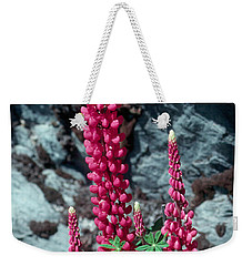 Lupine 1 Weekender Tote Bag by Andy Shomock