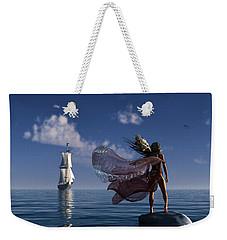 Lure Of The Siren... Weekender Tote Bag by Tim Fillingim