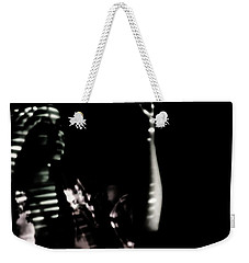Weekender Tote Bag featuring the photograph Lurid  by Jessica Shelton