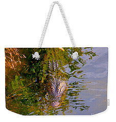 Lurking Weekender Tote Bag by Carey Chen