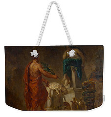Lycurgus Consulting The Pythia Weekender Tote Bag