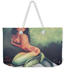 Lydia The Tattooed Mermaid Weekender Tote Bag