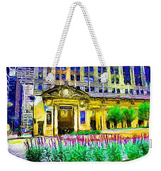 Lyric Opera House Of Chicago Weekender Tote Bag by Ely Arsha