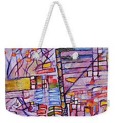 Lysergic Descriptions Weekender Tote Bag