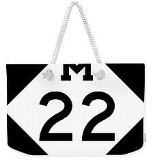 M 22 Weekender Tote Bag