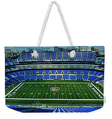 M And T Bank Stadium Weekender Tote Bag by Robert Geary