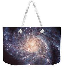 M101 Pinwheel Galaxy Weekender Tote Bag