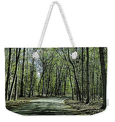 M119 Tunnel Of Trees Michigan Weekender Tote Bag