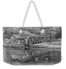 Mabry Mill Pencil Drawing Weekender Tote Bag