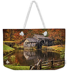 Mabry Mill Weekender Tote Bag by Priscilla Burgers