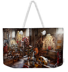 Machinist - A Room Full Of Memories  Weekender Tote Bag