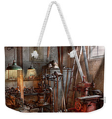 Machinist - The Modern Workshop  Weekender Tote Bag