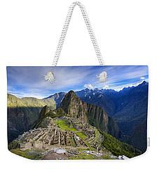 Machu Picchu Weekender Tote Bag by Alexey Stiop