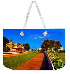 Mackinac Island Flower Garden  Weekender Tote Bag