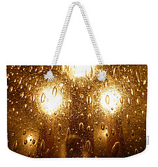 Macro Lights Weekender Tote Bag