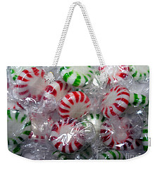 Macro Mints Weekender Tote Bag by Joseph Baril