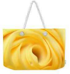 Macro Yellow Rose Weekender Tote Bag