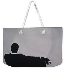 Mad Men In Silhouette Weekender Tote Bag