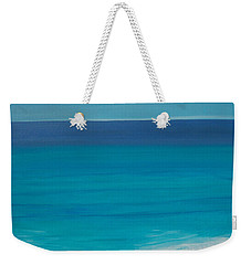 Weekender Tote Bag featuring the painting Madagascar by Mini Arora