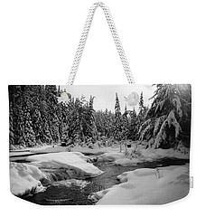 Madawaska River Weekender Tote Bag by David Porteus
