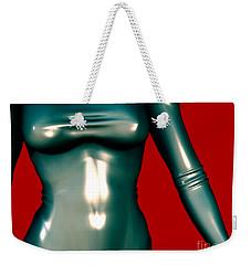 2 -mademoiselle Contenu Les Bleu Weekender Tote Bag